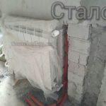 Сантехник Самара. Установка радиатора отопления на трубках Rehau