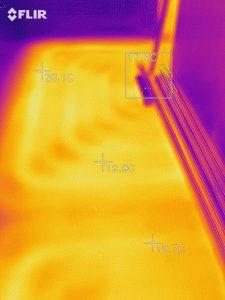 Проверка теплого пола тепловизором в Самаре