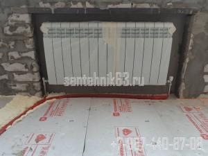 Монтаж радиаторов отопления в Самаре с использованием нержавеющих трубок в Самаре